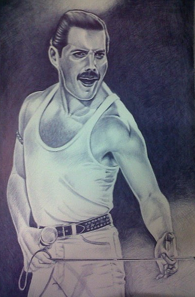 Freddie Mercury by caban2104